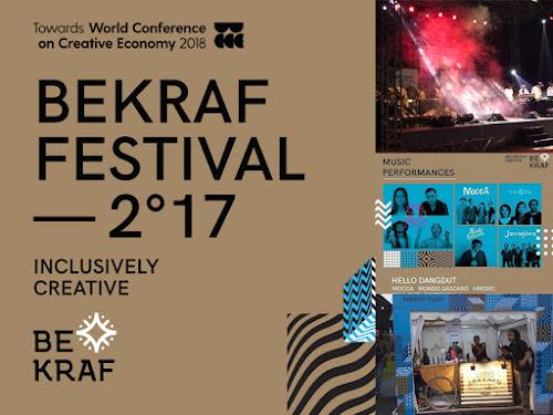 Bekraf Festival 2017 di Bandung