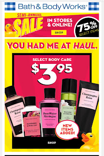 Bath & Body Works | Today's Email - January 9, 2020