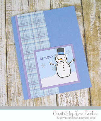 Be Merry card-designed by Lori Tecler/Inking Aloud-stamps and dies from Taylored Expressions
