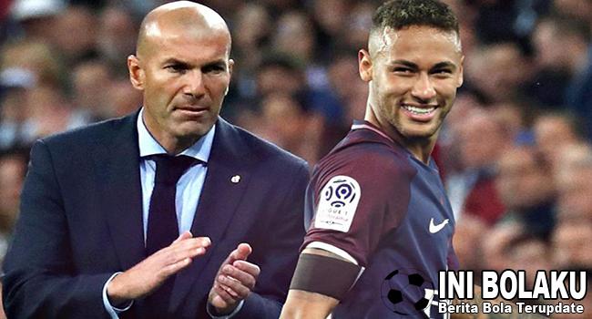 Zidane Janji Bahas Neymar Usai Liga Champions