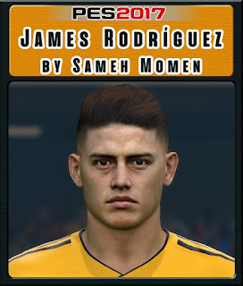 PES 2017 Faces James Rodriguez by Sameh Momen