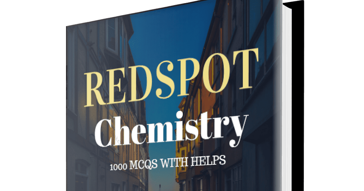 Redspot Chemistry 1000 MCQs with Solutions