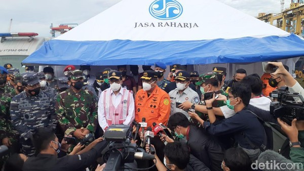 Panglima TNI: Sinyal Diduga dari Pesawat Sriwijaya Air SJ182 Ditemukan