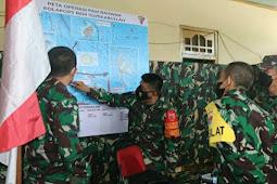 Tim Waslat Mabesad Kunjungi Latihan Persiapan Pratugas Yonif RK 732/Banau