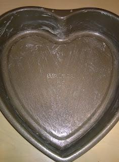 Herzbackform 25 cm