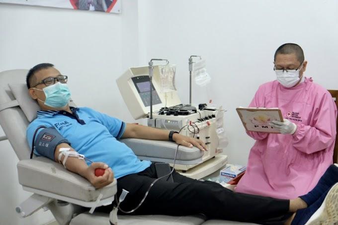 Bantu Pasien Covid-19, Wawali Donor Plasma Konvalesen