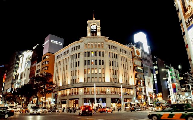 Ginza, Jepang
