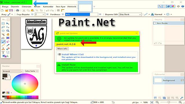 Paint ile Resminizi bir yağlı boyaya dönüştürün