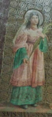 sveta Vissija - devica in mučenka