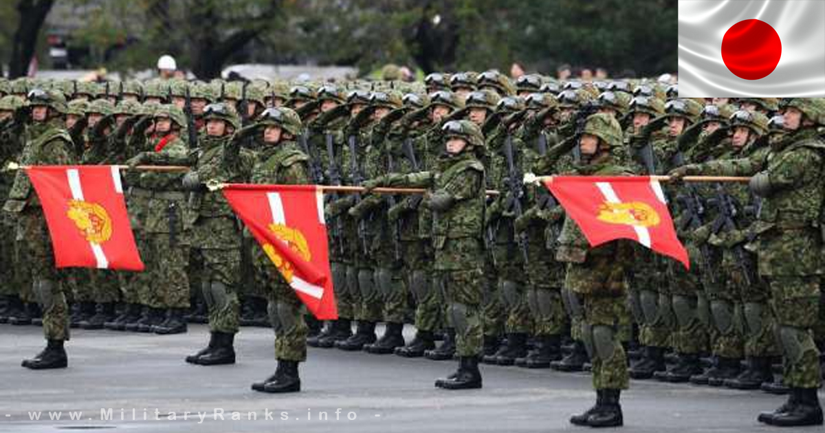 Japan Self-Defense Forces Ranks and Insignia Japan Army Ranks JSDF Ranks