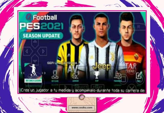 Download PES V6 2021 PPSSPP, Season Update Winter Transfer & Android Offline Best Graphics