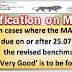 7th CPC MACP : Clarification regarding revised benchmark of Very Good of APAR grading