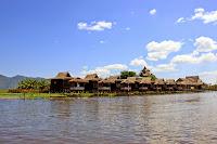 Bungalow turistico en el Lago Inle