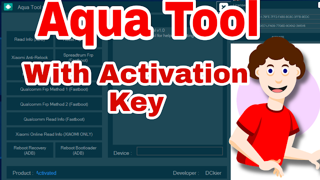 Aqua Tool (Android Tool) Latest Version With Activation Key Download