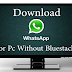 Whatsapp for PC or MAC Without Bluestacks Download Now