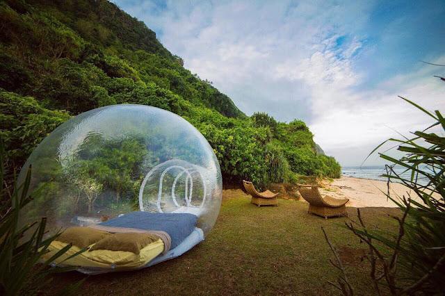 Menginap di Hotel bubble yang hits di Bali pas banget untuk pasangan kamu
