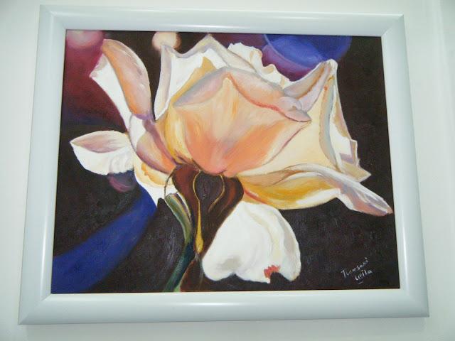 Les peintures de mes élèves à l'expo 4