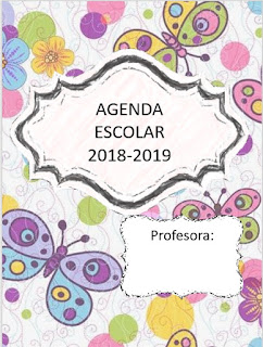 Agenda Escolar Colección Editables 2018-2019