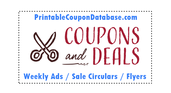 Printable Coupon Database Weekly Ads Circulars And Flyers