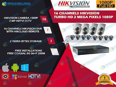 HIKVISION, Pakrt CCTV HIKVISION MURAH, JASA PASANG CCTV HIKVISION
