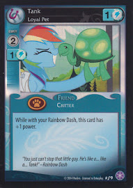 My Little Pony Tank, Loyal Pet The Crystal Games CCG Card