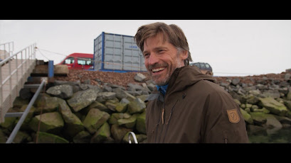 SYNOPSIS: Through Greenland is a visually spectacular program series with Danish Game of Thrones star Nikolaj Coster-Waldau on an adventurous expedition through Greenland.     STARRING: Nikolaj Coster-Waldau  WRITTEN BY: Alex Kühne  DIRECTED BY: Eric Engesgaard  PRODUCED BY: DR1, travel, journey, greenland, documentary, seal, food, leisure
