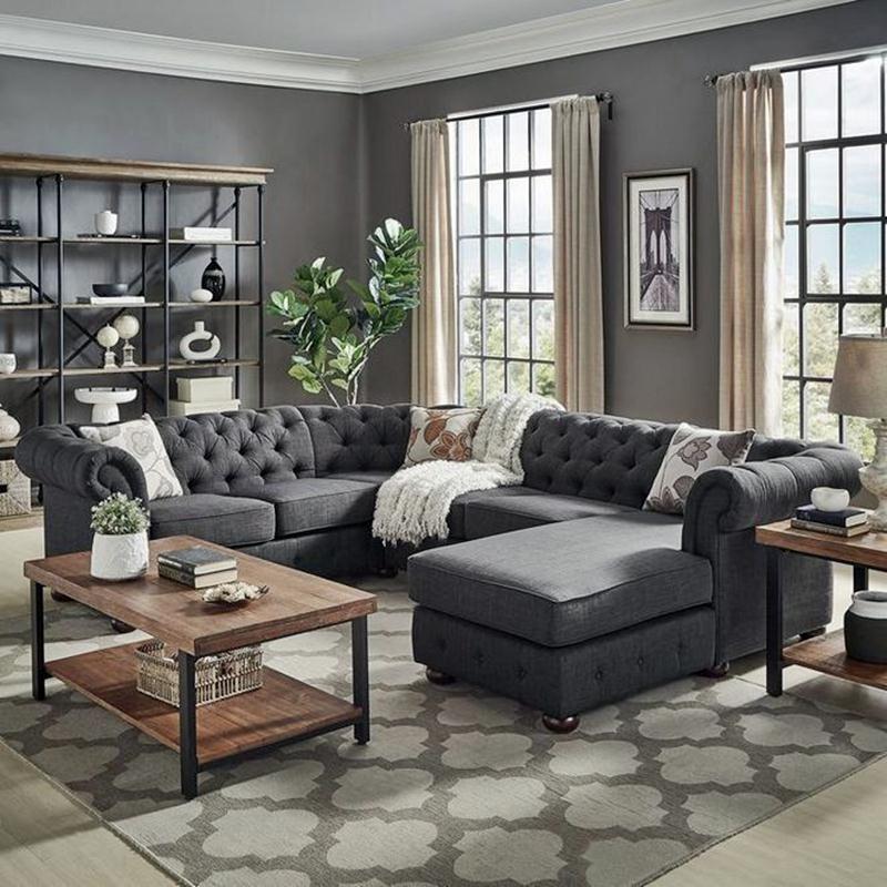 5 Beautiful Living Room Decor Ideas Gray Walls Dream House