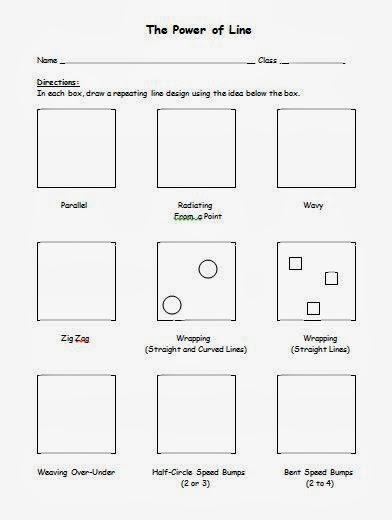 Printables Op Art Worksheet no corner suns op art with bridget riley free handout and youtube video