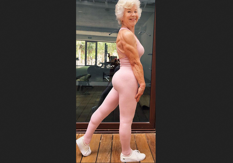 Joan MacDonald 73 year,  Training