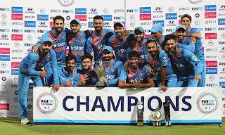 England tour of India 3-Match T20I Series 2017