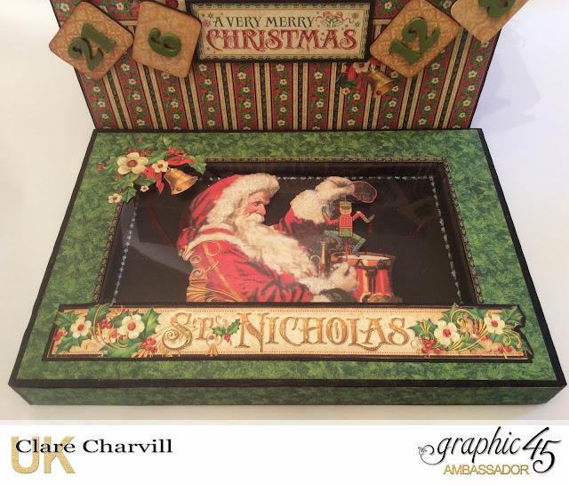 St Nicholas Advent Box Clare Charvill Graphic 45