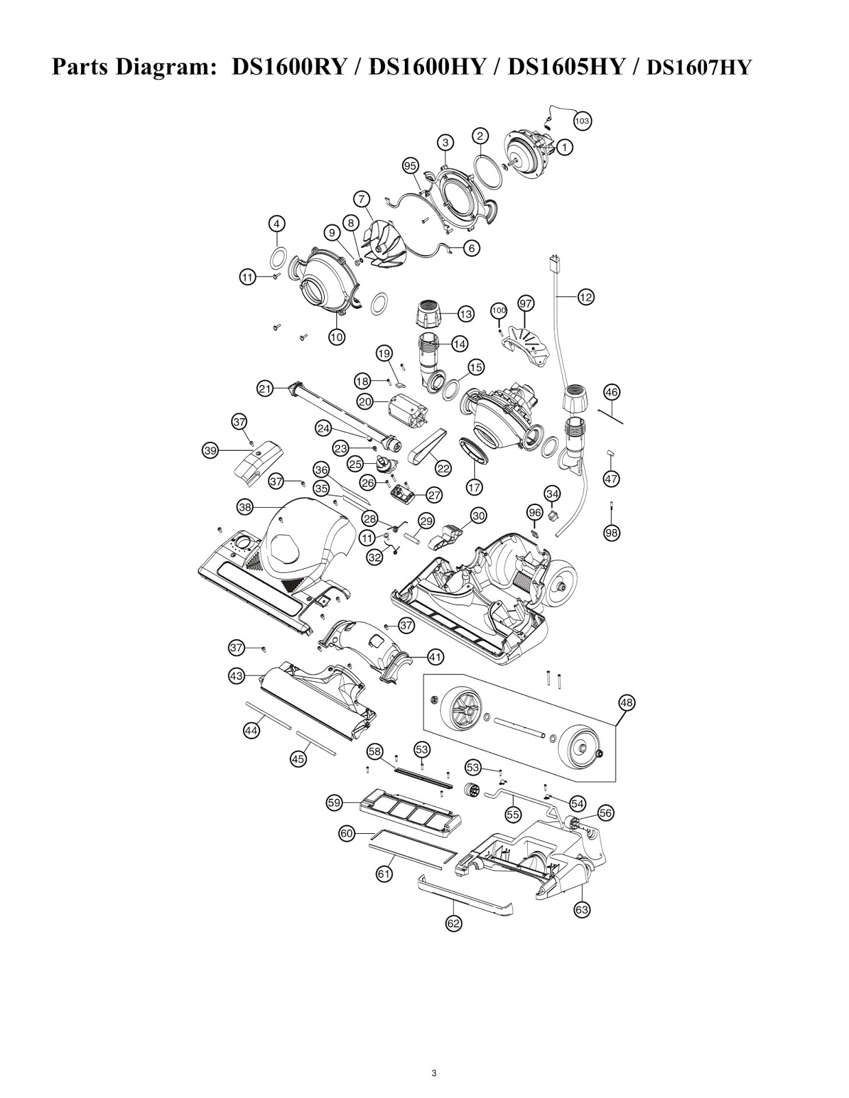 Wiring Diagram For Bissell Vacuum Cleaner Wiring Switch