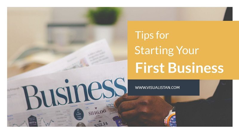 Top Tips for Starting Your First #siness