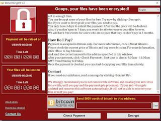 Cara Mencegah PC / komputer Terkena Ransomware Wanna Cry