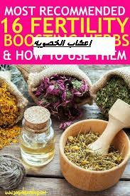 اعشاب مهمه تزيد من خصوبة المرأه fertility herbs
