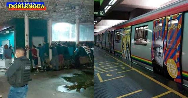 Señor de 65 años murió a puñaladas dentro del Metro por no comprarle caramelos a los malandros