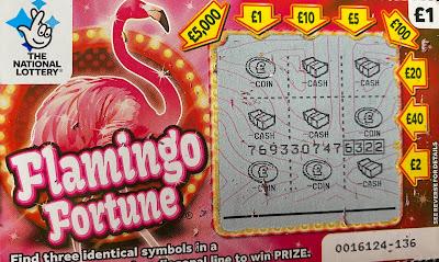 £1 Flamingo Fortune