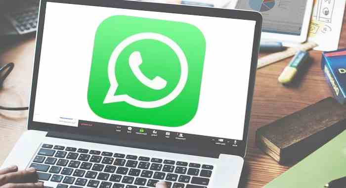 cara panggilan video WhatsApp laptop