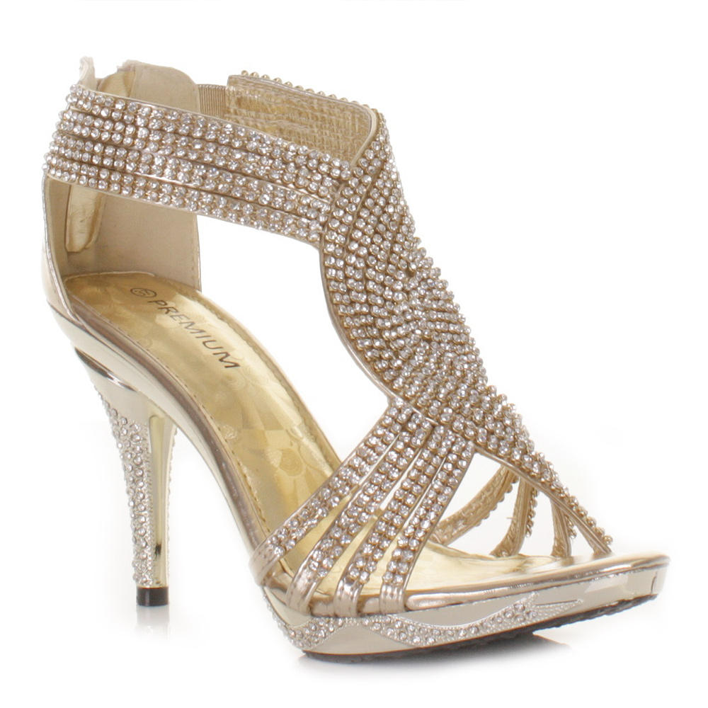 Girls Sparkly Party Shoes