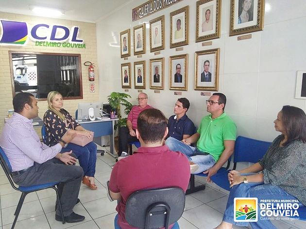 Programa de Recuperação Fiscal é apresentado para representantes do comércio de Delmiro Gouveia