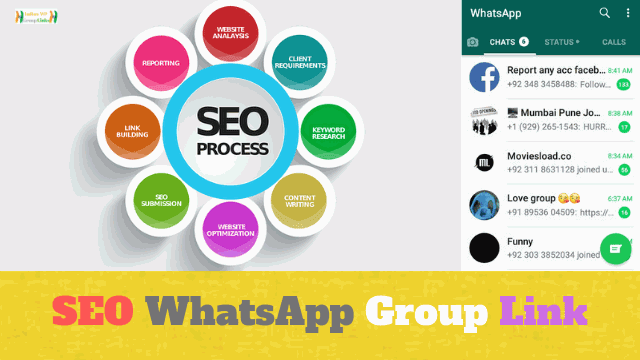 90+ Best Search Engine Optimization (SEO) Whatsapp Group Link List