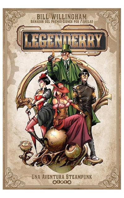 steampunk-comic-legenderry