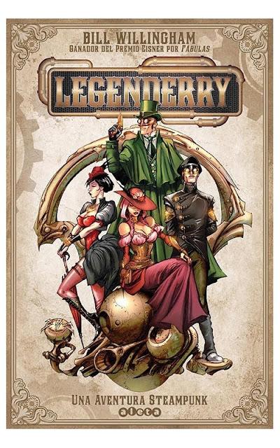 steampunk-comic-legenderry