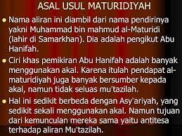 Paham Al-Maturidiyah