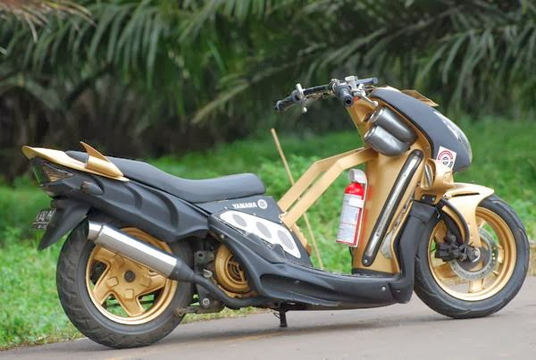 modifikasi motor mio