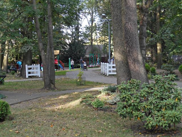 atrakcje zoo w Nowym Tomyślu, zabawa, huśtawki, karuzele