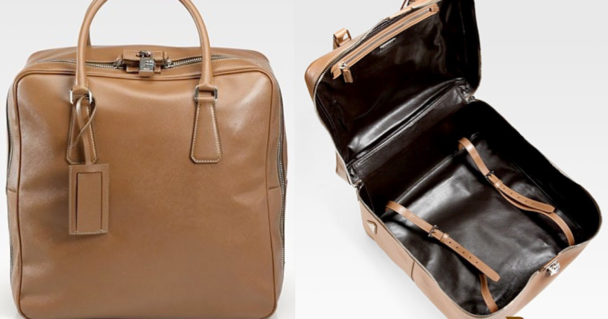 a4e2f923ed42df ... coupon code for life is too short to do without prada saffiano leather  travel bag 9cba4