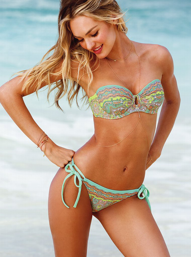 "Candice Swanepoel ""Victoria's Secret"" Swimwear – Bikini Models"