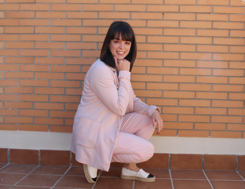 Outfit primaveral rosa