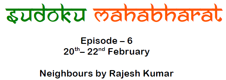 Sudoku Mahabharat Episode 6 by Rajesh Kumar